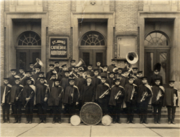 The Marquette University band