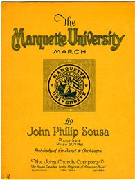 """The Marquette University March"""