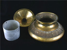 Spittoon disassembled