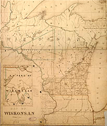 """Map of Wiskonsan"""