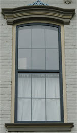 Image of historic window.