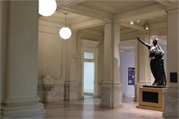 Wisconsin Historical Society HQ Lobby.