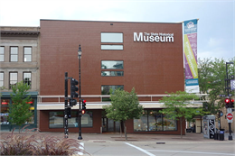 Wisconsin Historical Museum on Madison's Capitol Square.