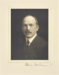 Quarter-length studio portrait of Francis E. McGovern, Milwaukee lawyer.