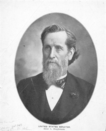 Portrait of United States senator Isaac Stephenson.