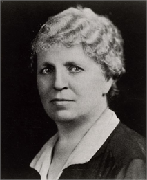 Portrait photograph of Lutie Eugenia Stearns