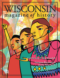 Freedom. Justice. Voice. Power. by Favianna Rodriguez. The art cover piece for Somos Latinas.