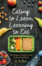 book cover eating to learn; andrew ruis
