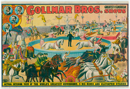 circus poster from Circus World Collections