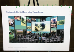 """Statewide Digital Learning Experience"" exhibit concept rendering (Credit: Gallagher & Associates)"