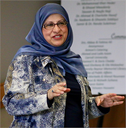 """Our purpose is to help dispel a lot of the stereotypes that are out there and to offer opportunities for the community to come together and build bridges of understanding,"" Islamic Resource Center Director Janan Nanjeeb said."
