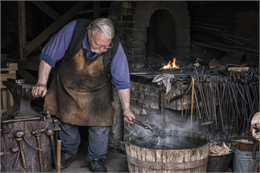 Old World Wisconsin blacksmith