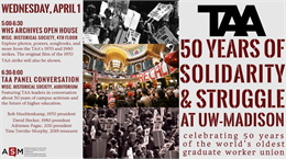 The TAA's 50 Years of Solidarity and Struggle